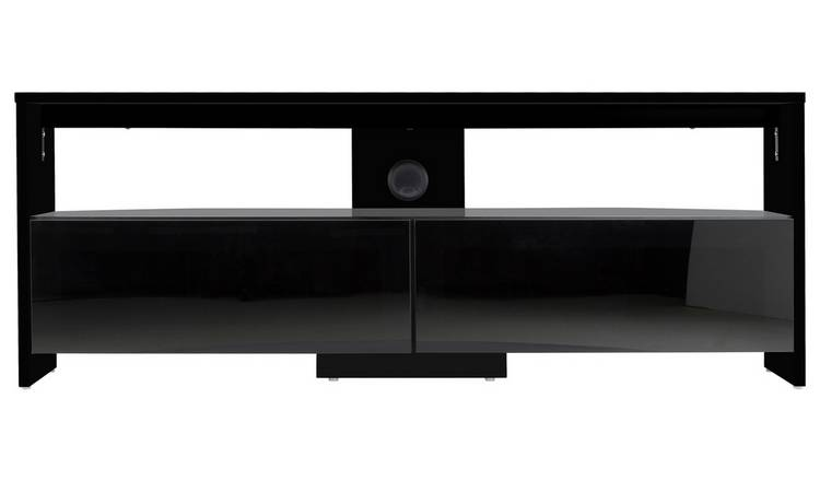 Buy Avf Saunton Up To 60 Inch Wood Effect Tv Stand Black Tv