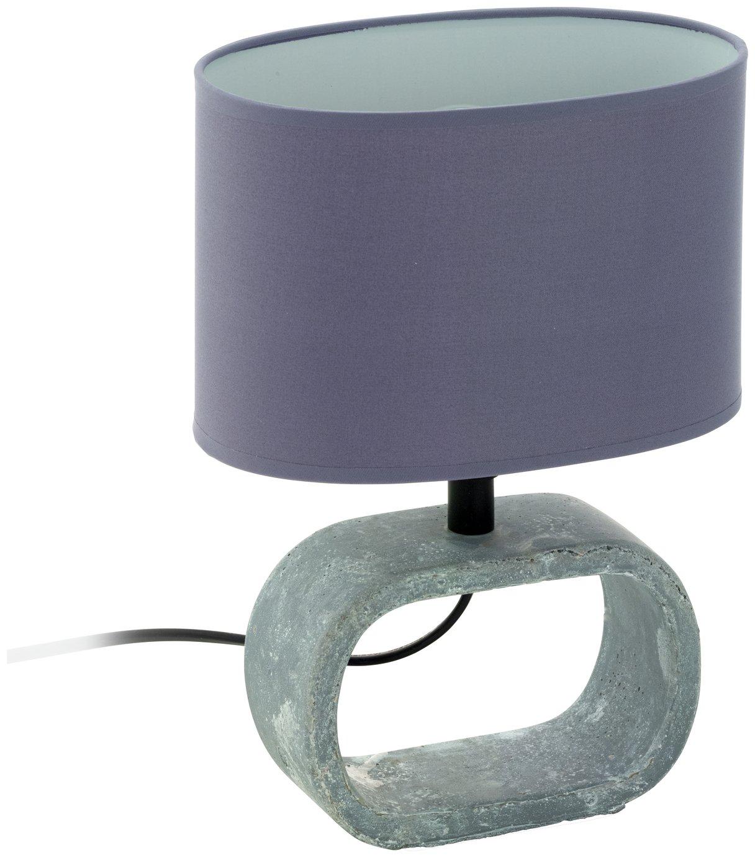 Image of Eglo Lagonia Ceramic Table Lamp - Grey