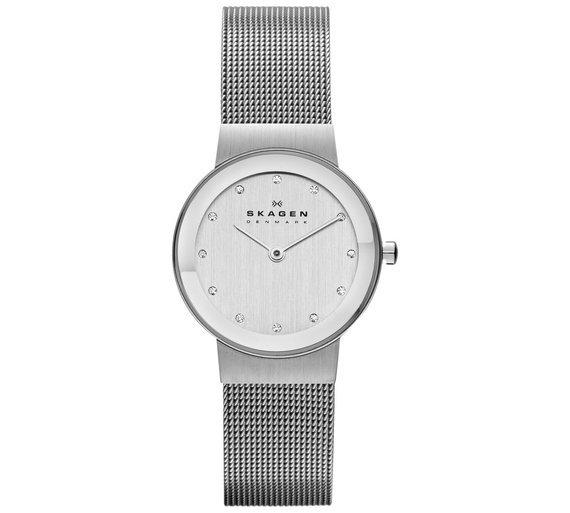 concept watch from classic mesh bering danish strap watches image grey