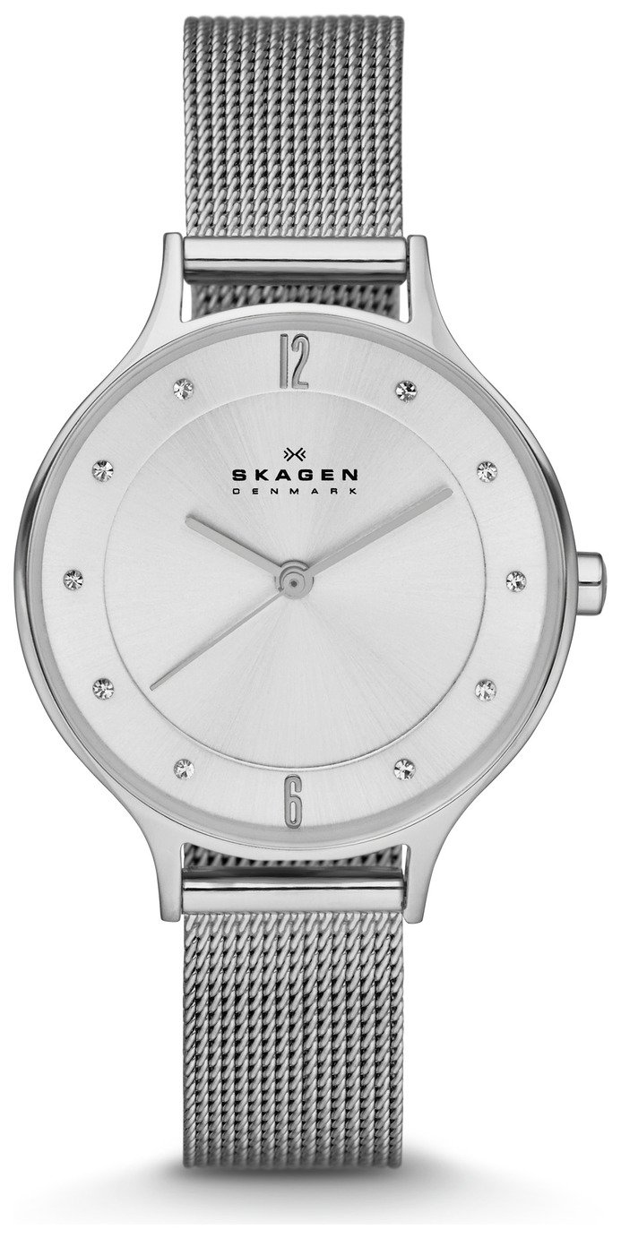 Skagen Ladies' SKW2149 Anita Stainless Steel Mesh Watch