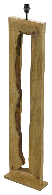 Image of Eglo Ribadeo Wooden Floor Lamp Base - Natural
