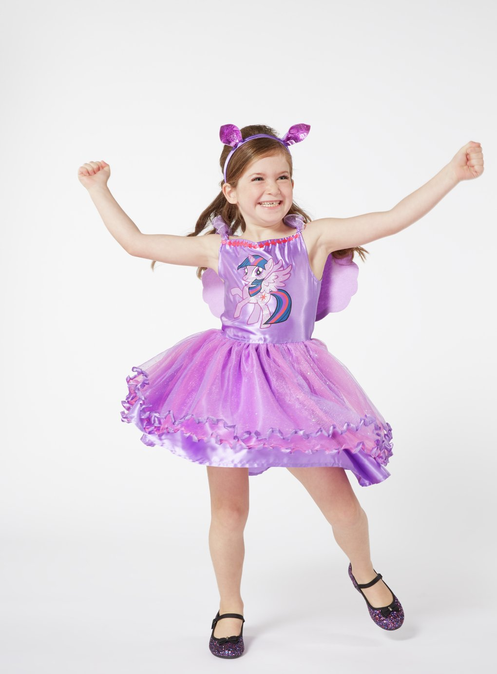 My Little Pony Twilight Sparkle Dress Up Costume - 3-4 Years