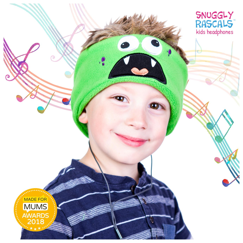 Snuggly Rascals Monster Kids On-Ear Headphones