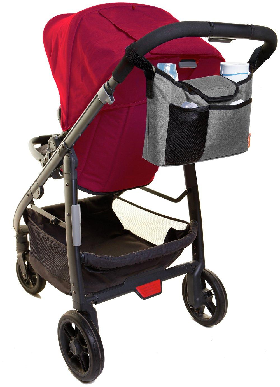 Dreambaby Strollerbuddy On-The-Go Bag - Grey