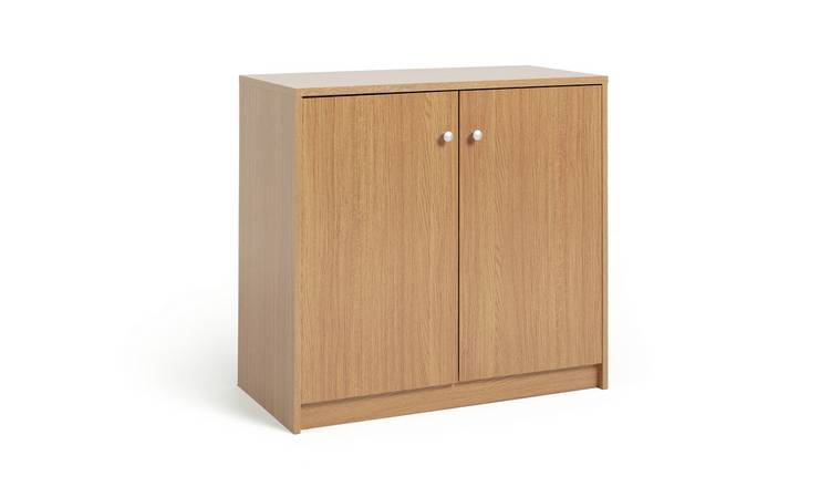 Habitat 2 Door Sideboard - Oak Effect