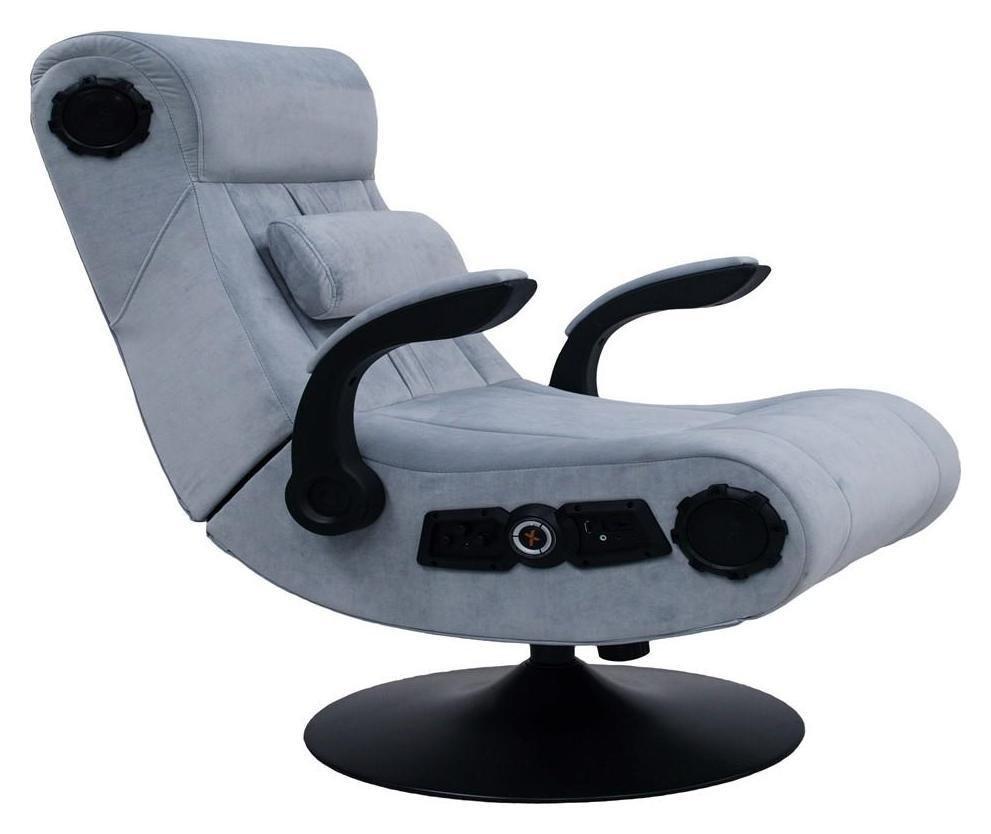 Astonishing X Rocker Deluxe 4 1 Chenille Pedestal Gaming Chair 7923678 Uwap Interior Chair Design Uwaporg