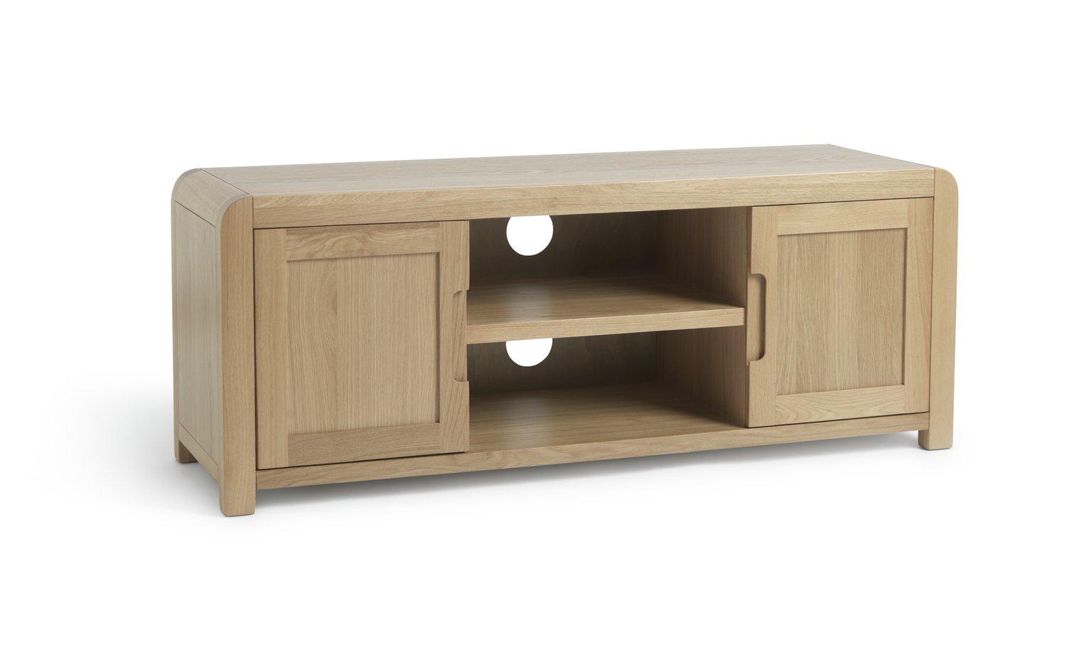 Argos Home Novara Large TV Unit - Oak Veneer