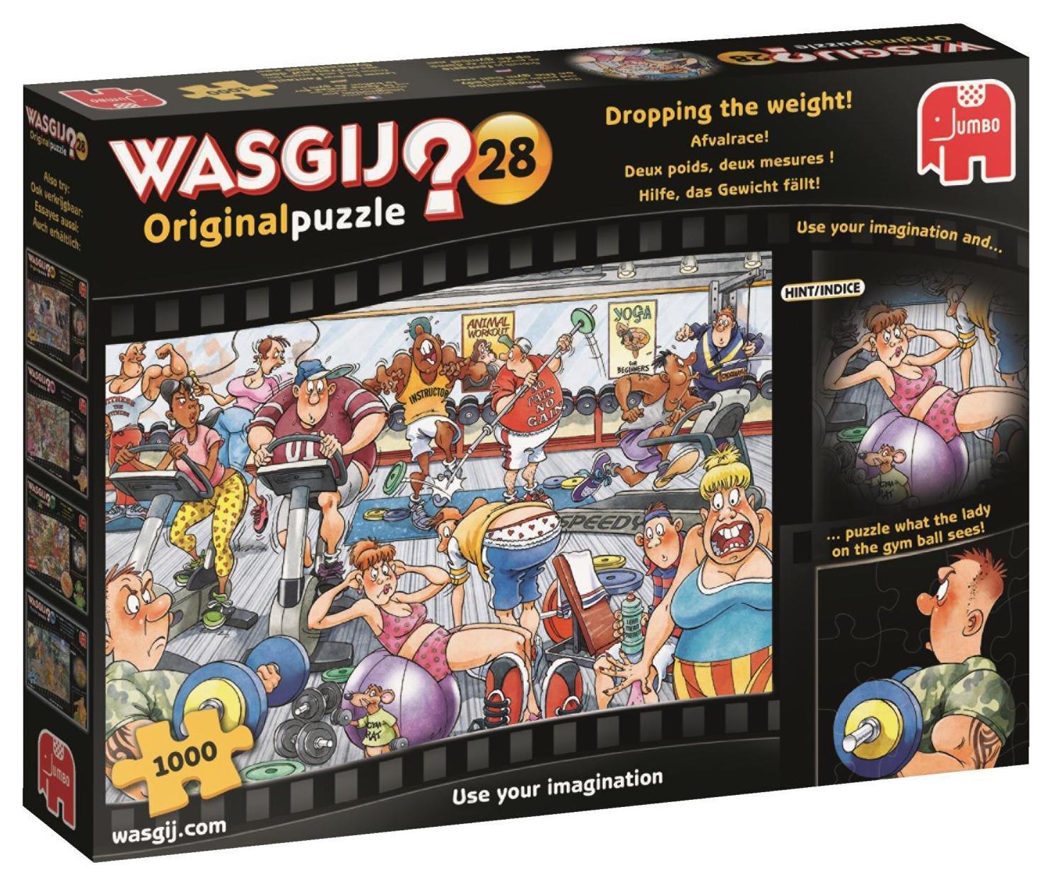 Wasgij Original 28 Brainteaser Puzzle - 1000 Piece
