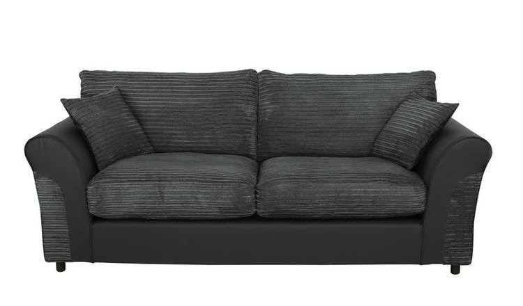 Fantastic Buy Argos Home Harry 3 Seater Fabric Sofa Charcoal Sofas Argos Download Free Architecture Designs Crovemadebymaigaardcom