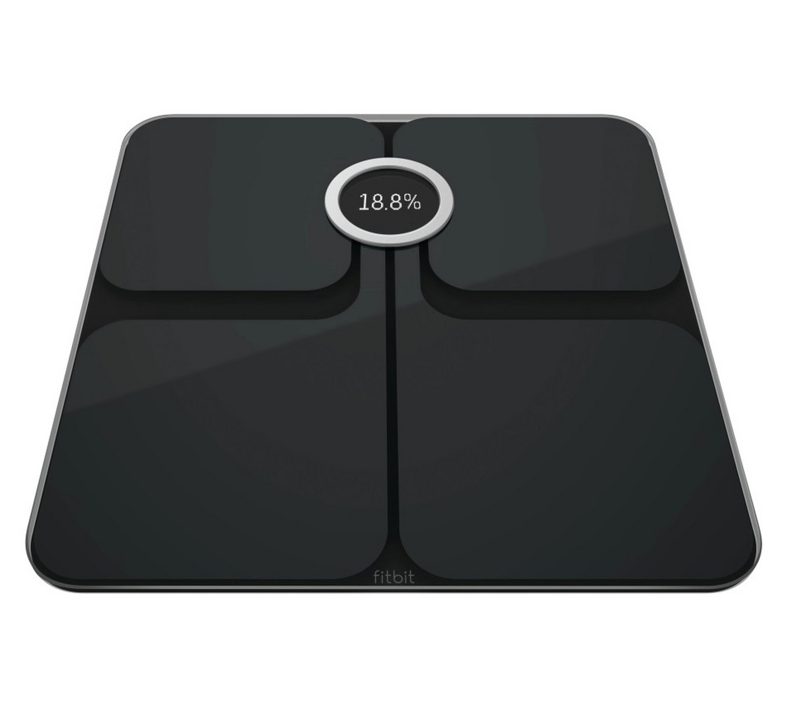 Fitbit Aria 2 Wi-Fi Body Weight Analysis Scale - Black