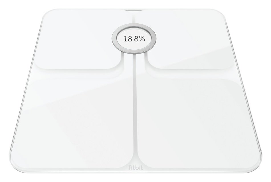 Image of Fitbit Aria 2 Wi-Fi Body Weight Analysis Scale - White