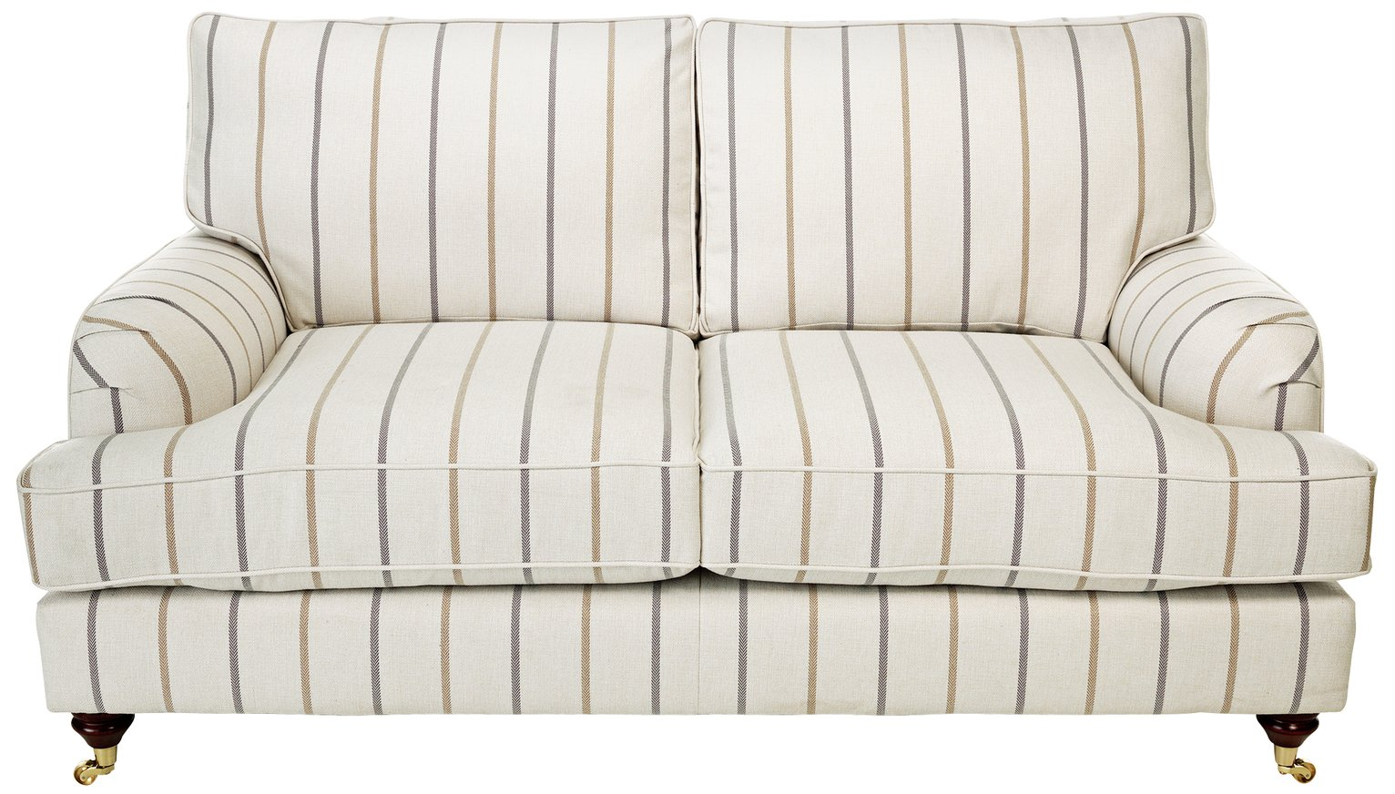 Image of Heart of House Abberton 2 Seater Sofa - Natural Stripe