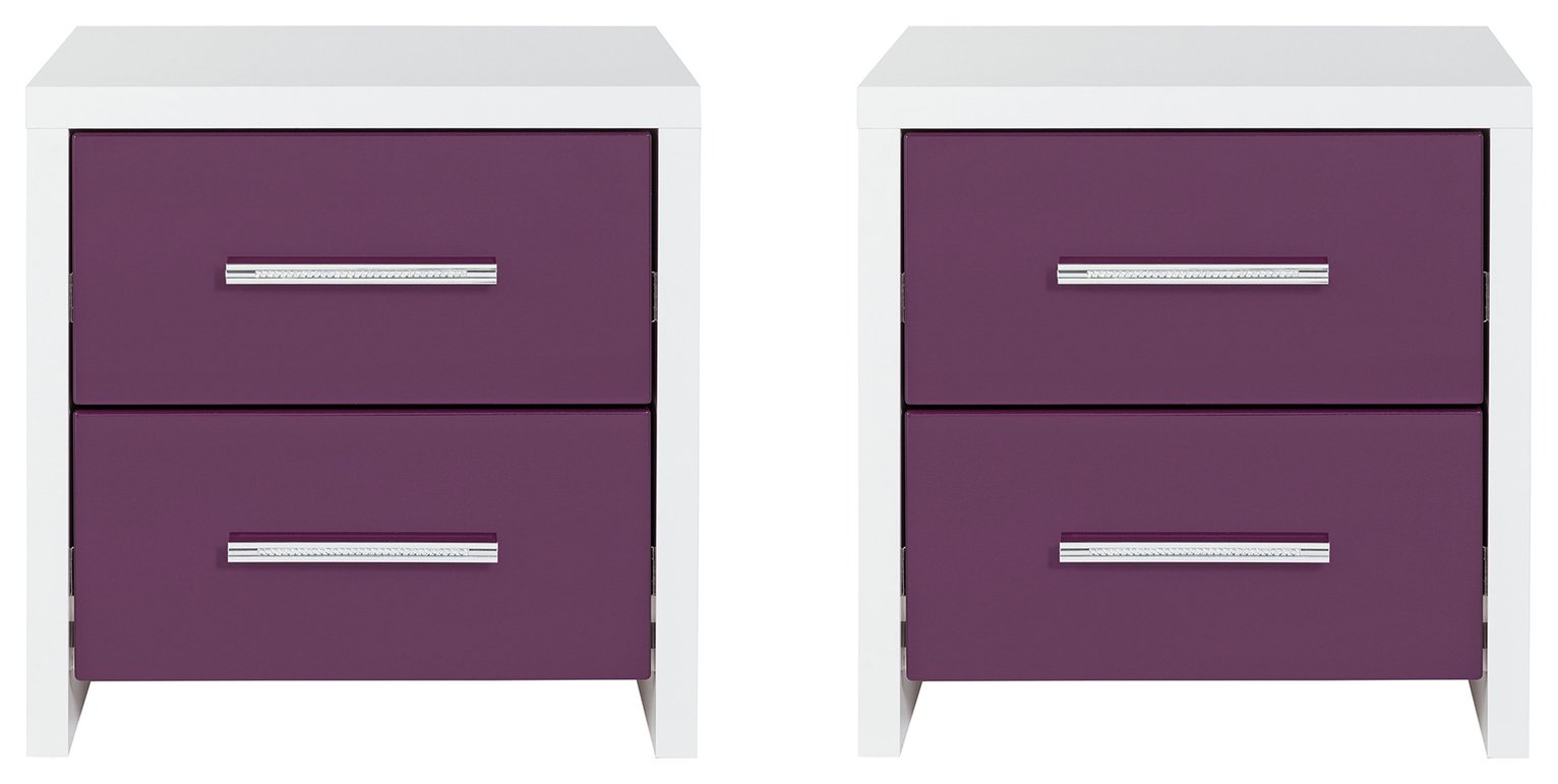 Argos Home Broadway 2 Bedside Chests