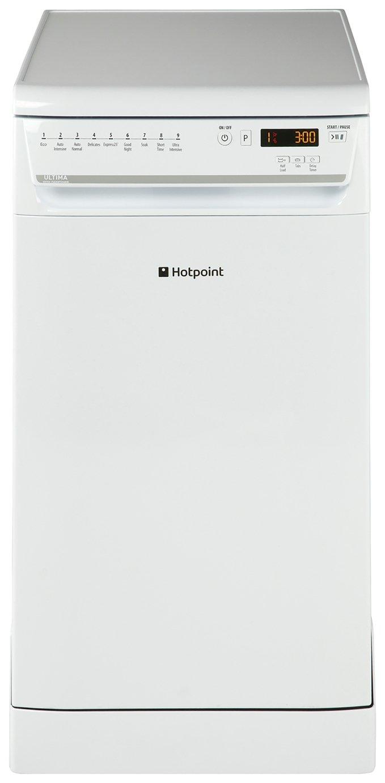 Hotpoint SIUF32120P Slimline Dishwasher - White
