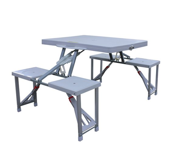 Argos Folding Picnic Table And Chairs Twin Height Folding
