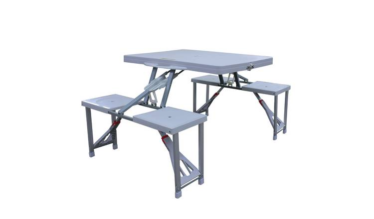 Buy Folding Picnic Table And Stools Camping Tables Argos