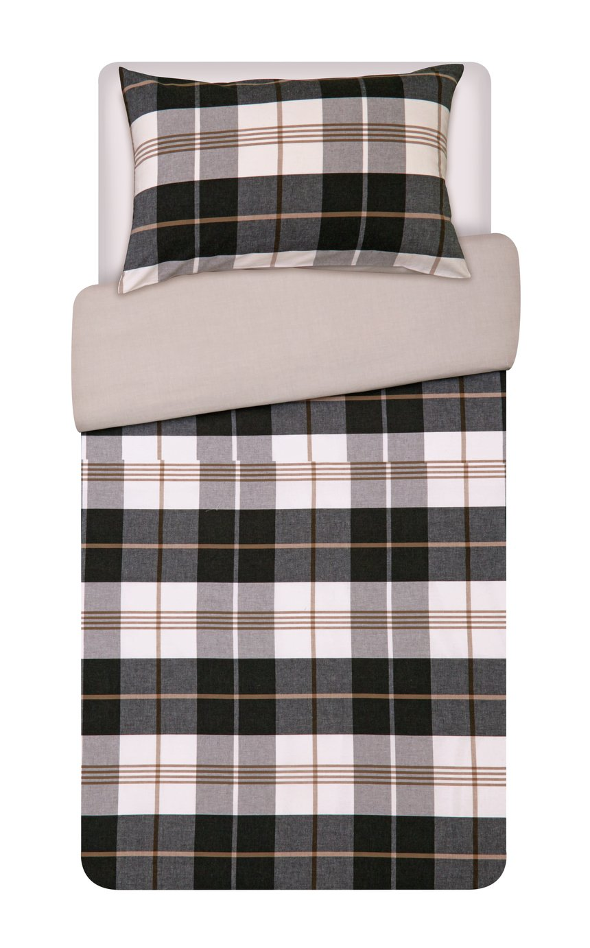Image of Heart of House Chester Woven Check Bedding Set - Single
