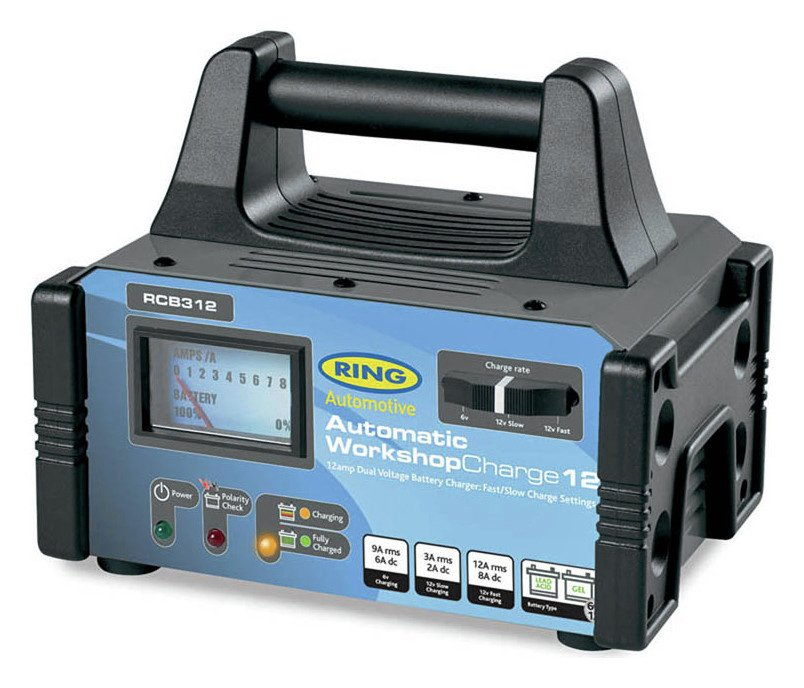 Image of Ring 6V/12V Automatic Car Battery Charger
