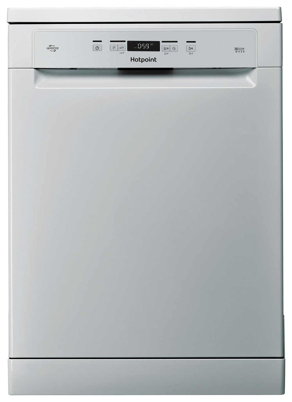 Hotpoint HFC3C26W Full Size Dishwasher - Silver