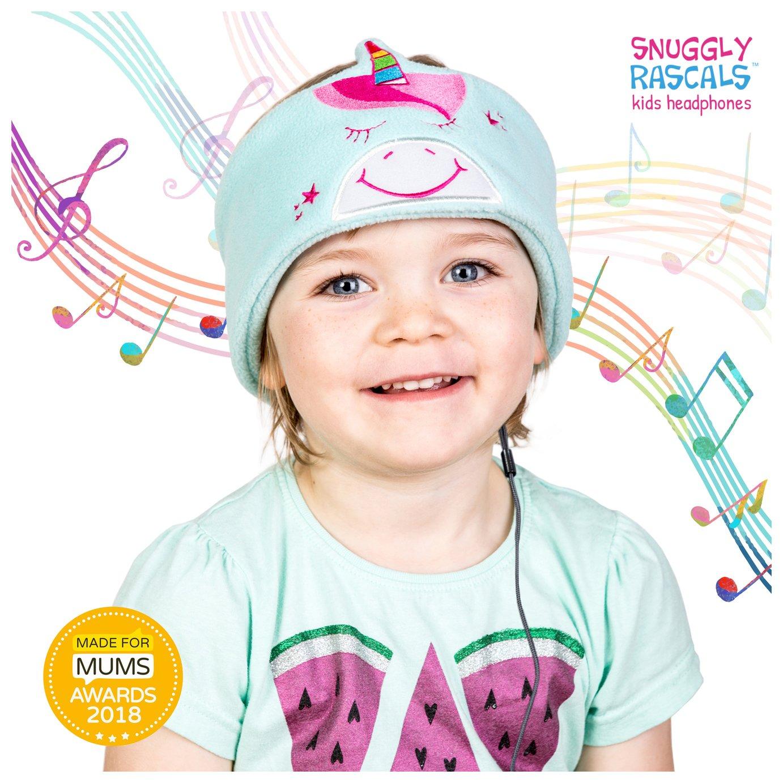 Snuggly Rascals Unicorn Kids On-Ear Headphones