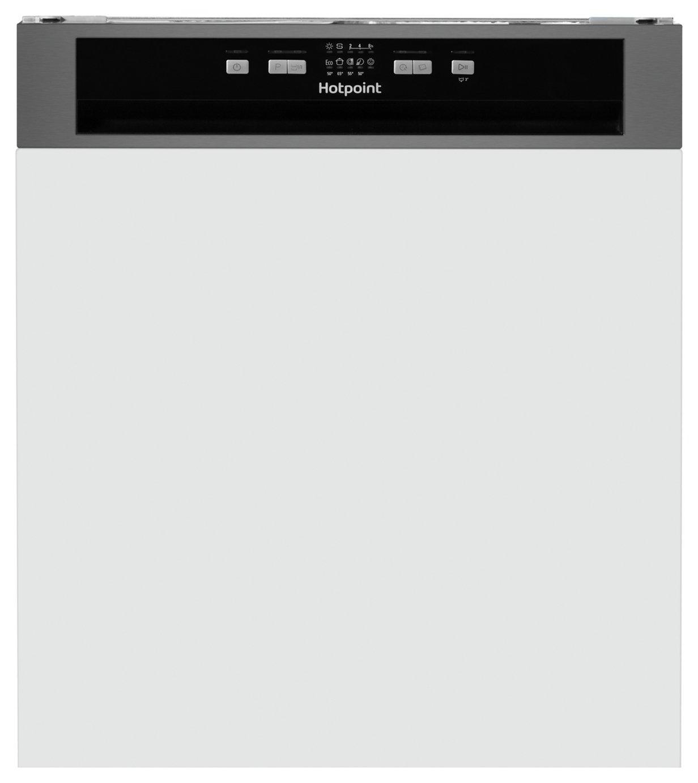 Hotpoint HBC2B19 Full Size Dishwasher - Stainless Steel