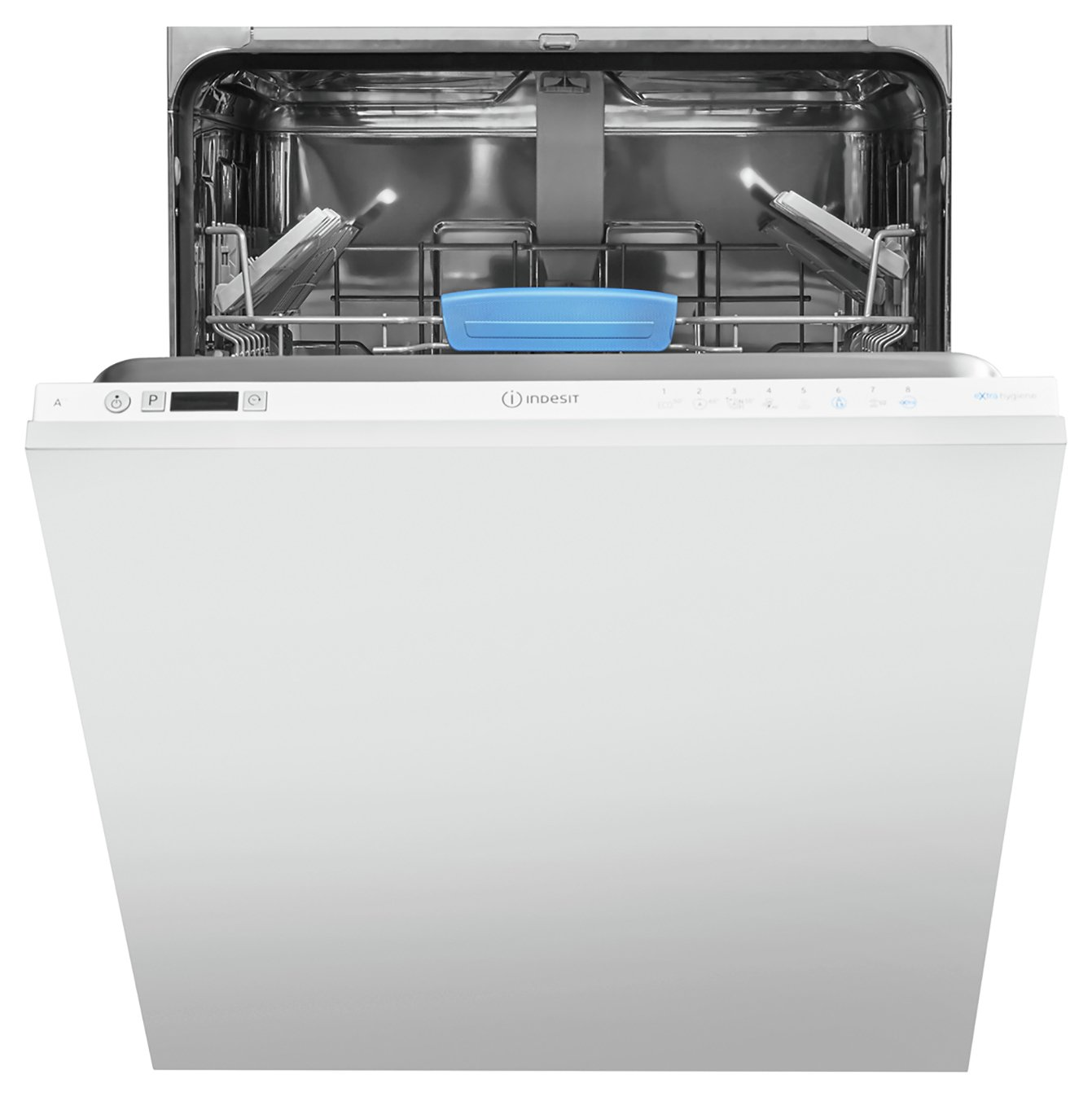 Indesit DIFP8T96Z Full Size Integrated Dishwasher - S/ Steel