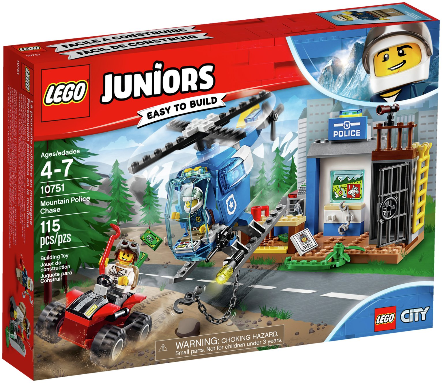 LEGO City Mountain Police Chase And Catch The Crook Before He ...