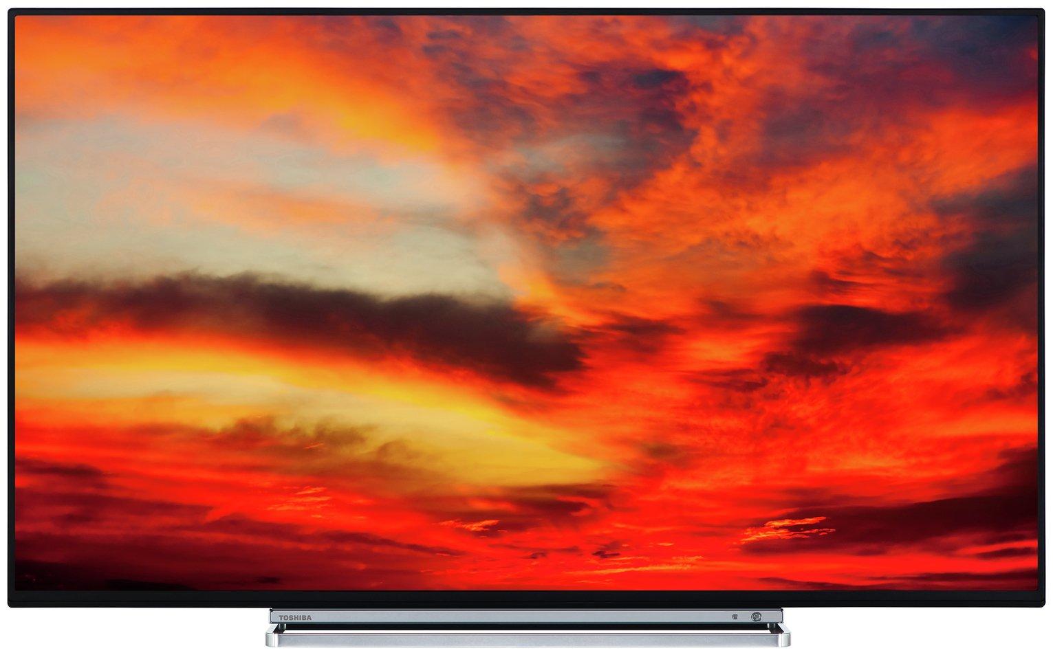 Image of Toshiba 55 Inch 55V6763DB Smart 4K UHD TV with HDR