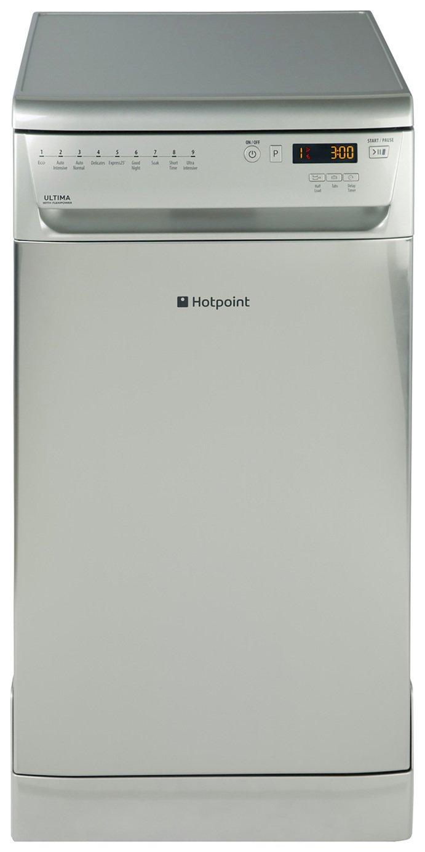 Hotpoint SIUF32120X Slimline Dishwasher - Stainless Steel