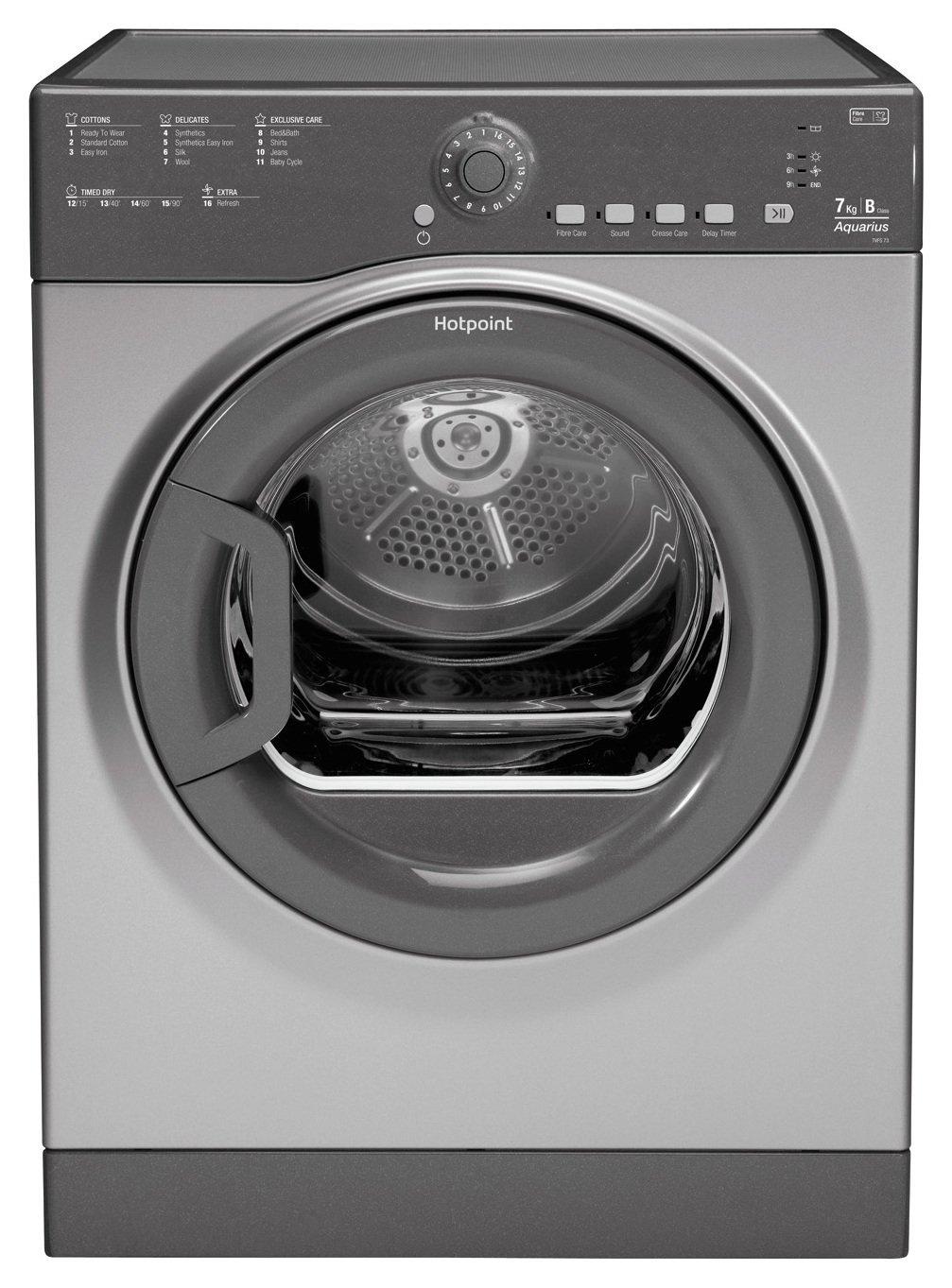 Hotpoint TVFS73BGG  7KG Tumble Dryer - Graphite