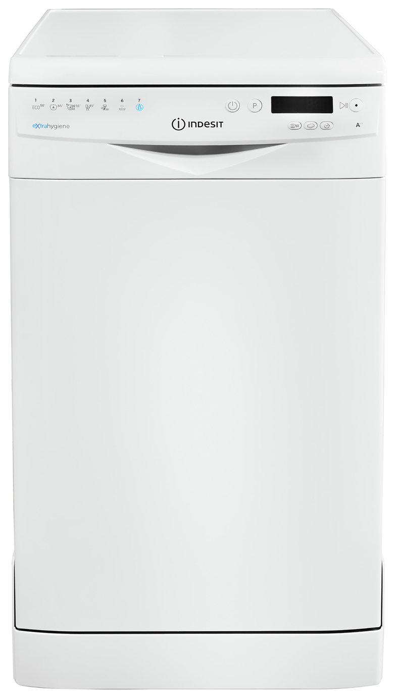 Indesit DSR57H96Z Slimline Dishwasher - White
