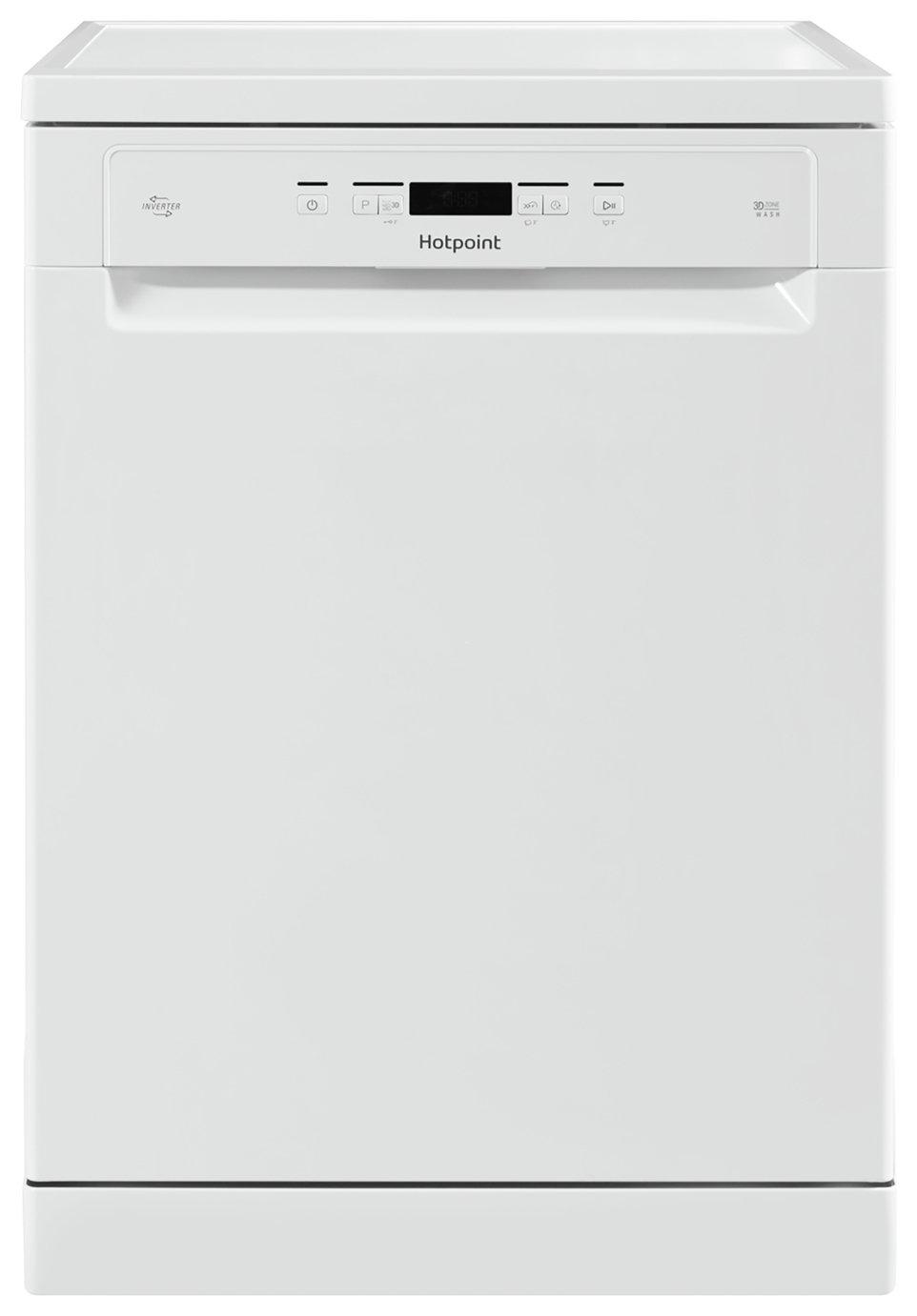 Hotpoint HFO3C23WF Full Size Dishwasher - White