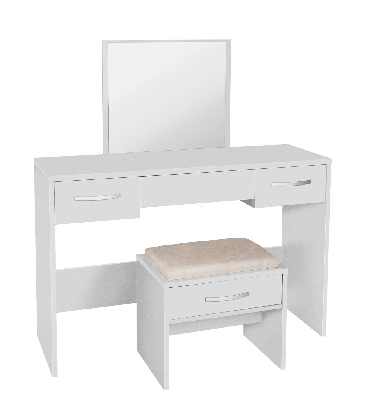 Image of Collection Hallingford Dressing Table - White