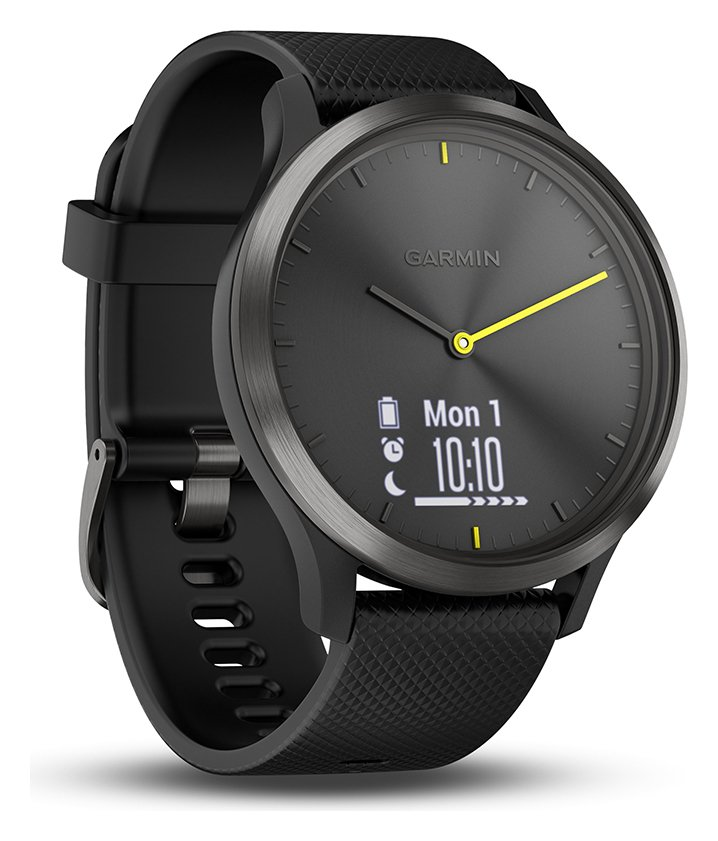 Image of Garmin vivomove HR Black Smart Watch - Large