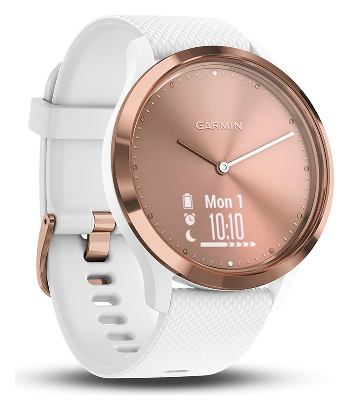 Image of Garmin vivomove HR Rose Gold Smart Watch - Medium