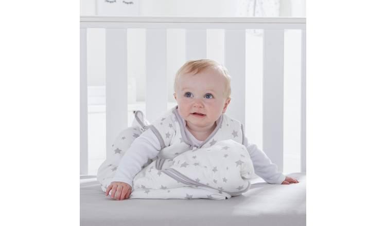 innovative design a5b7f 974f1 Buy Silentnight Stars Baby Sleeping Bag - Grey | Baby sleeping bags | Argos