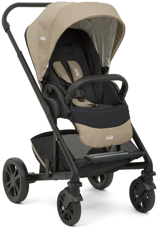 Joie Chrome Scenic Stroller & Carrycot - Sandstone