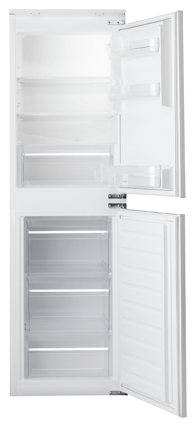 Indesit IB5050A1D Built In Fridge Freezer - White Best Price, Cheapest Prices