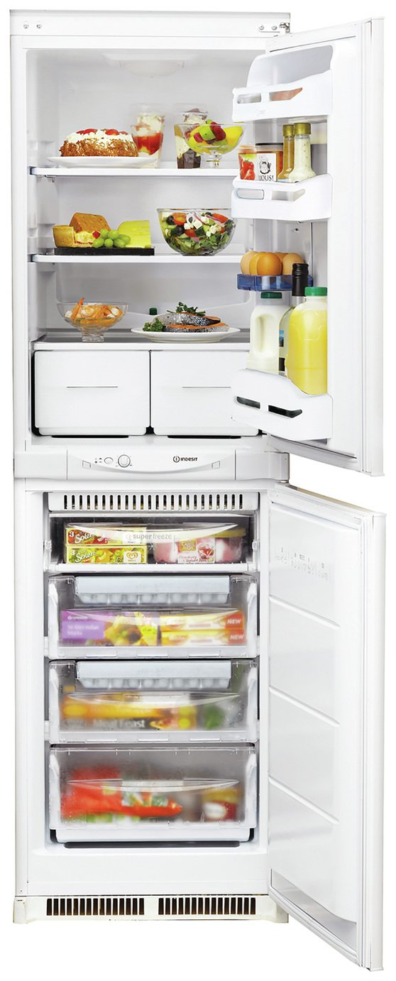 Indesit INC325FF Fridge Freezer - White