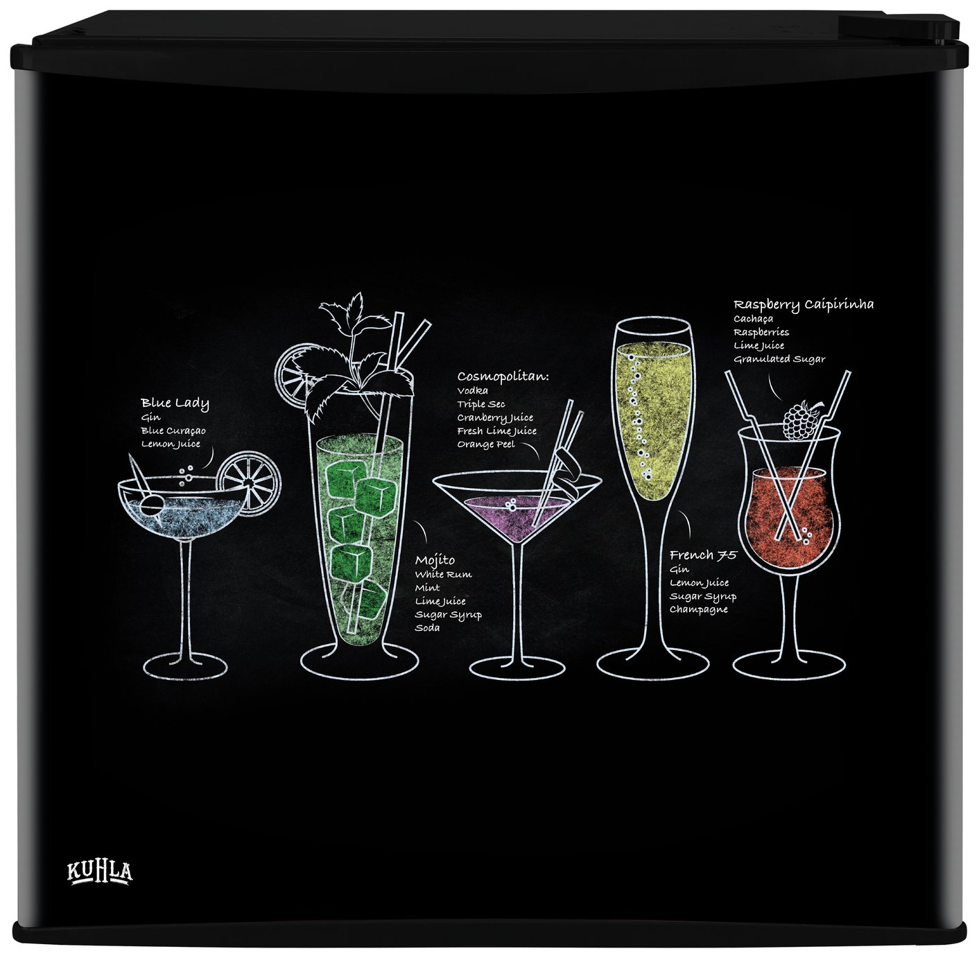 Kuhla Cocktail Design Table Top Fridge