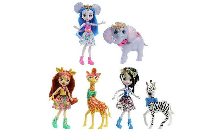 Enchantimals Dolls with Large Animal Figures Assortment