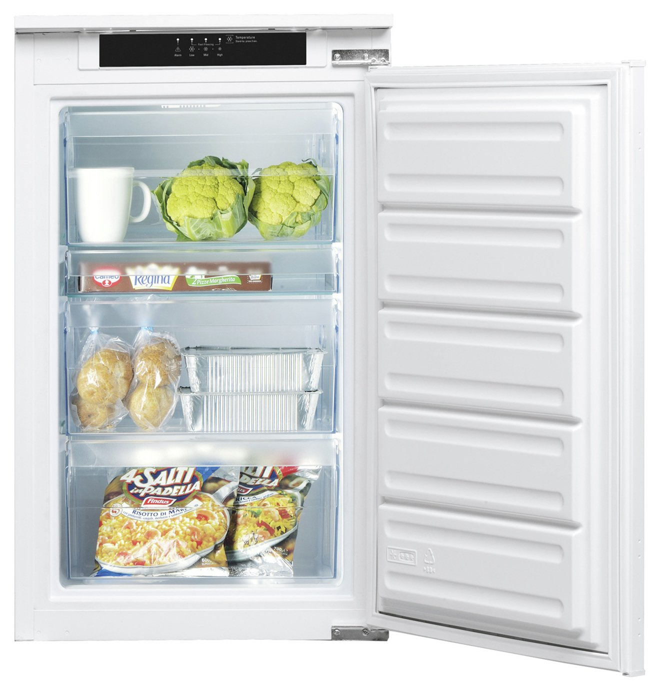 Indesit INF901EAA Integrated Freezer - White