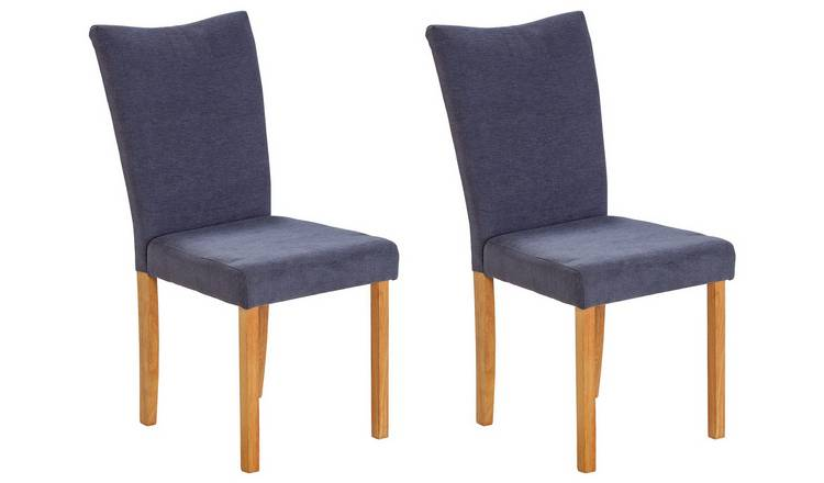 Fabulous Buy Argos Home Tabitha Pair Of Wing Back Dining Chairs Grey Dining Chairs Argos Pabps2019 Chair Design Images Pabps2019Com