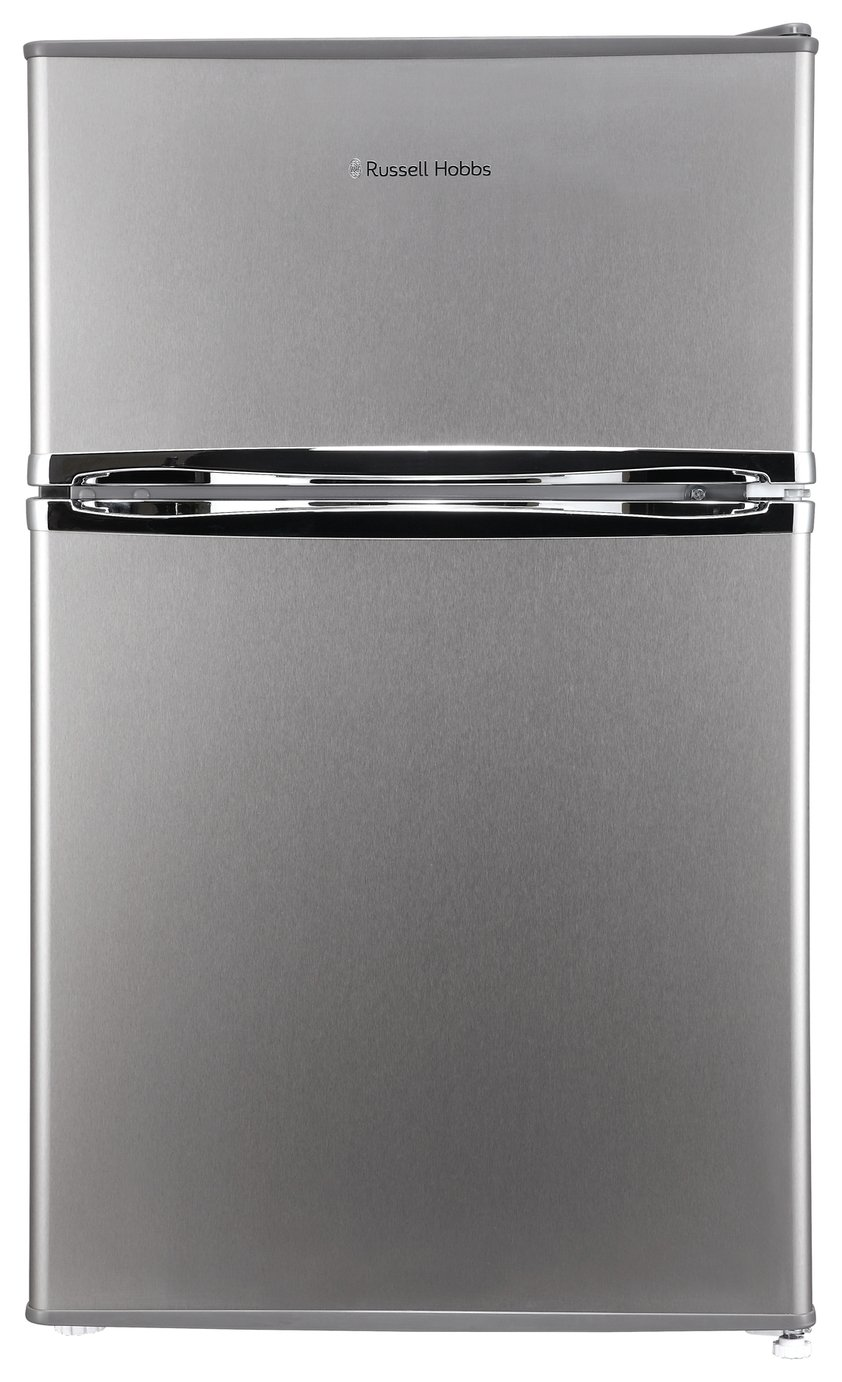 Russell Hobbs RHUCFF50SS Under Counter Fridge Freezer Silver Best Price, Cheapest Prices
