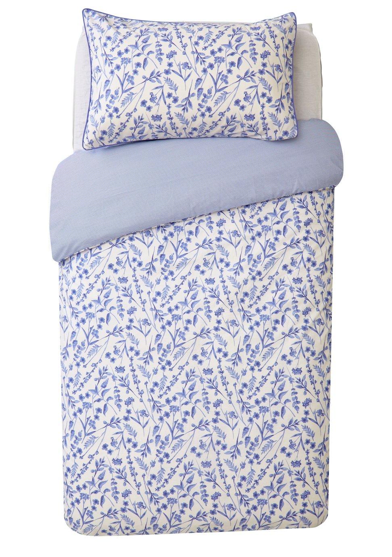 Argos Home Cascade Floral Bedding Set - Single