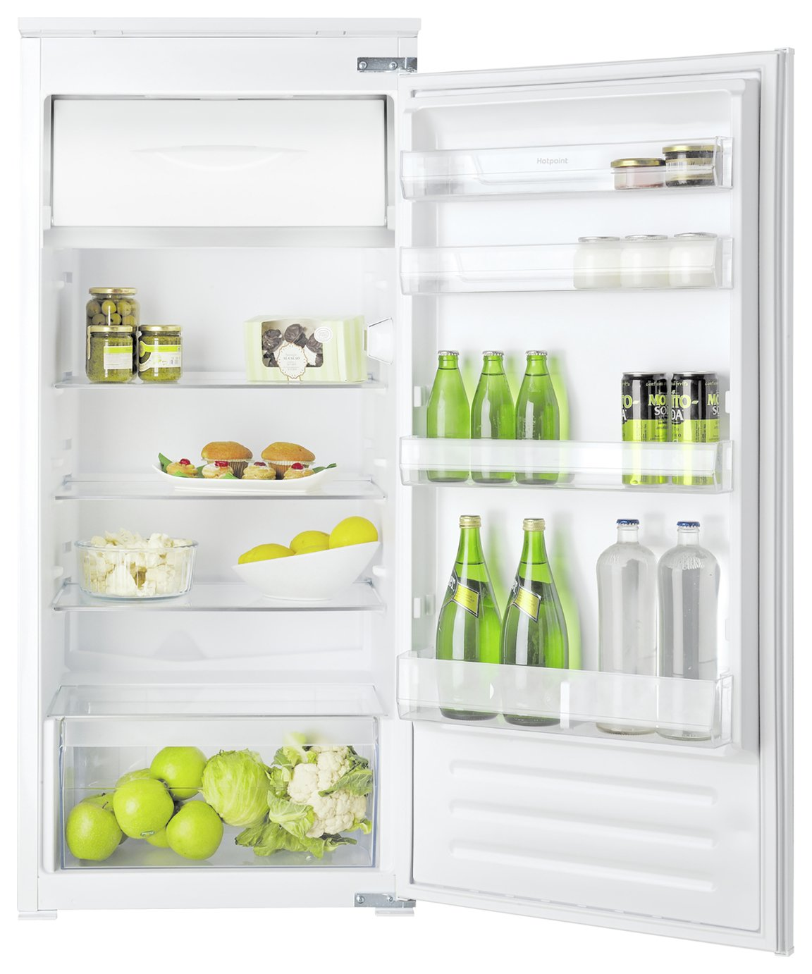 Hotpoint HS12A1D Integrated Under Counter Fridge - White