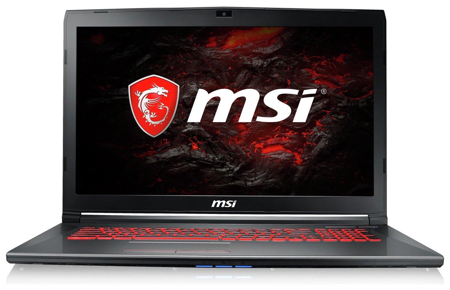 Msi MSI GV72 17 Inch 8GB 128GB 1TB GTX1050TI Gaming Laptop