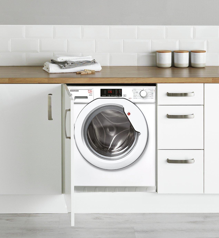 Hoover HBWD7514DA 7/5KG 1400 Spin Integrated Washer Dryer