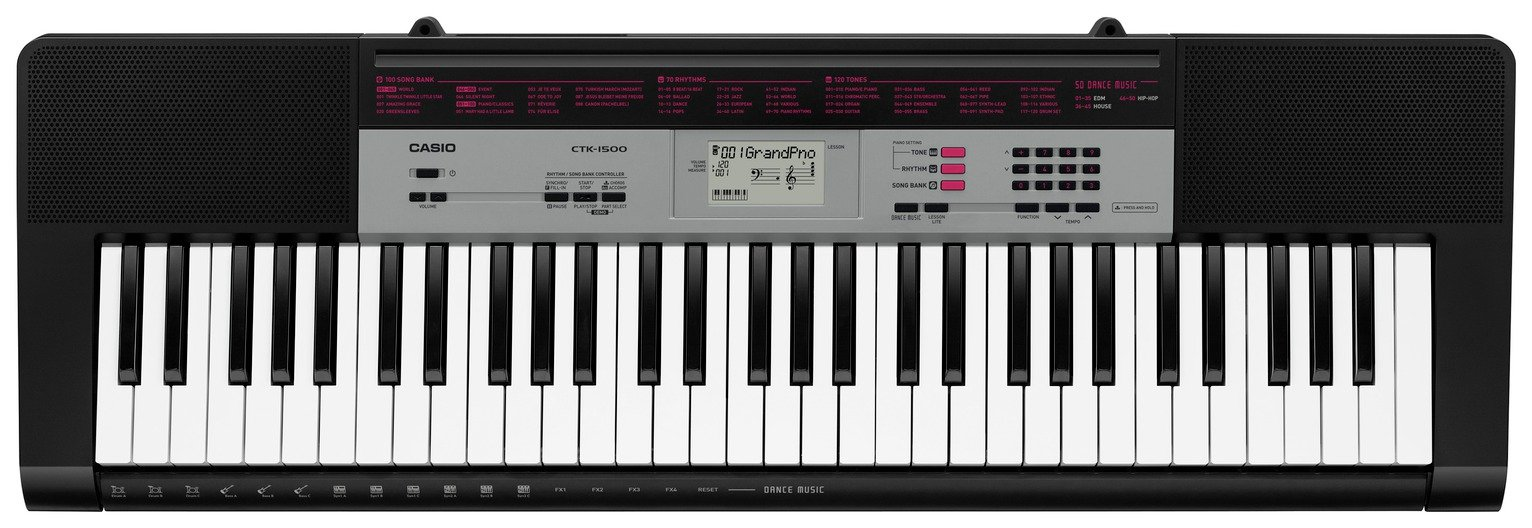 Image of Casio CTK-1500AD Full Size Keyboard