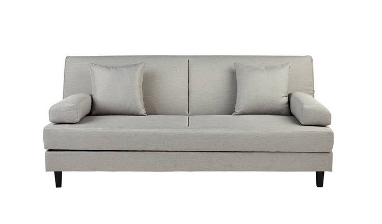 Habitat Chase Fabric Clic Clac Sofa Bed - Light Grey
